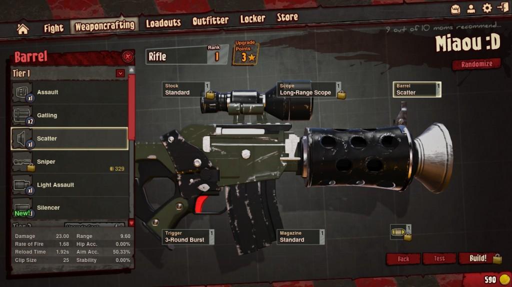 Craft d'armes
